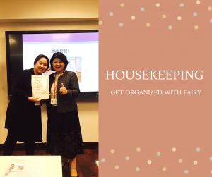 Housekeeping日本整理收納認定心得分享-菲菲