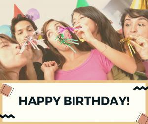 祝我生日快樂!